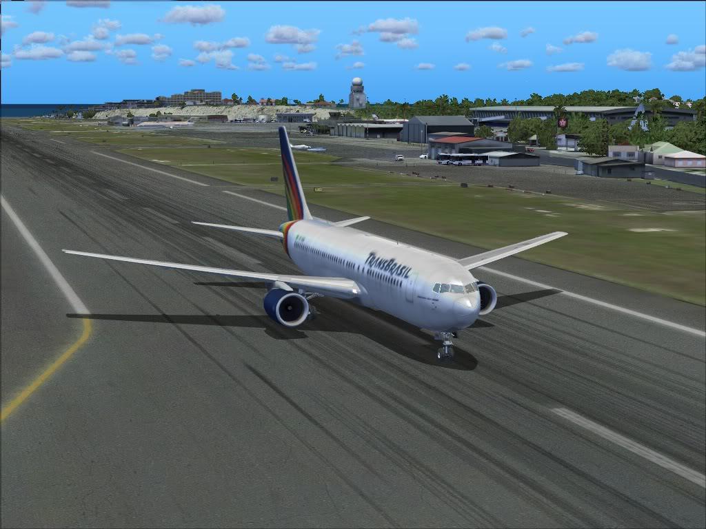 [FS9] TransBrasil 737-400 SBGL//SBCF B7671