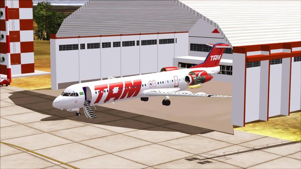 Fokker 100 TAM- São Carlos Fs92011-12-1509-17-11-32
