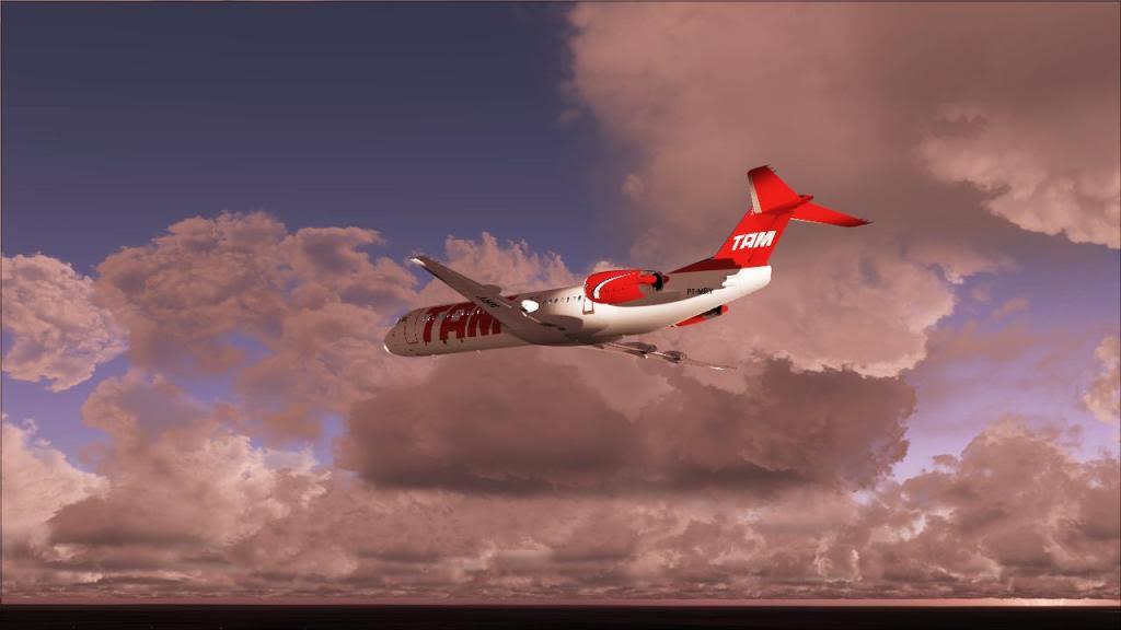 Fokker 100 TAM- São Carlos Fs92011-12-1509-27-48-29