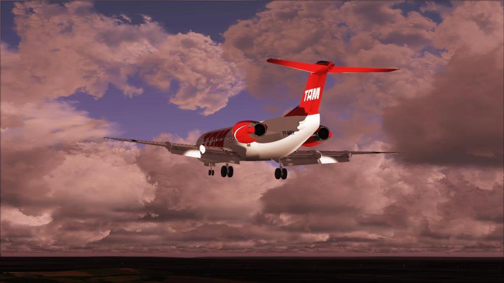 Fokker 100 TAM- São Carlos Fs92011-12-1509-28-37-49