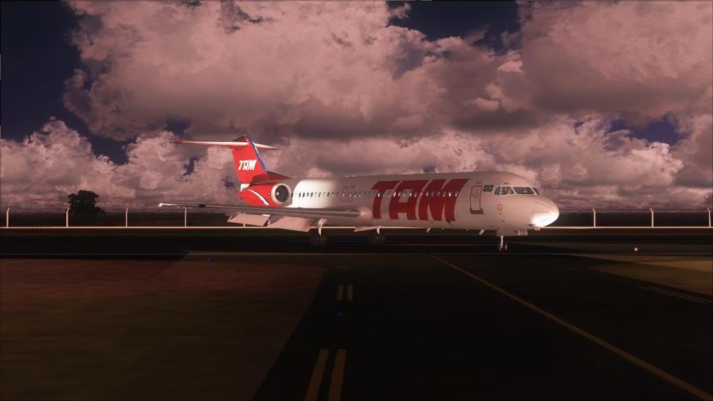 Fokker 100 TAM- São Carlos Fs92011-12-1509-32-21-53