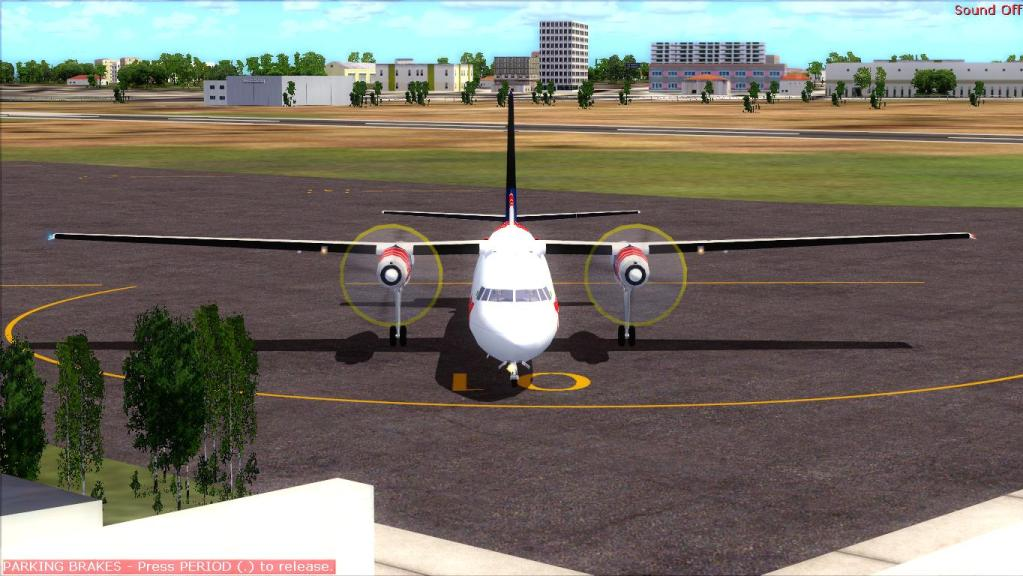 Fokker 27-200 TAM Teste de pintura Fs92012-07-1509-20-07-16
