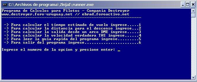 FPP Version 1.2  - Formulas para pilotos Pantalla-1