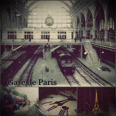 Gare de Paris { Estação Ferroviaria} Da2