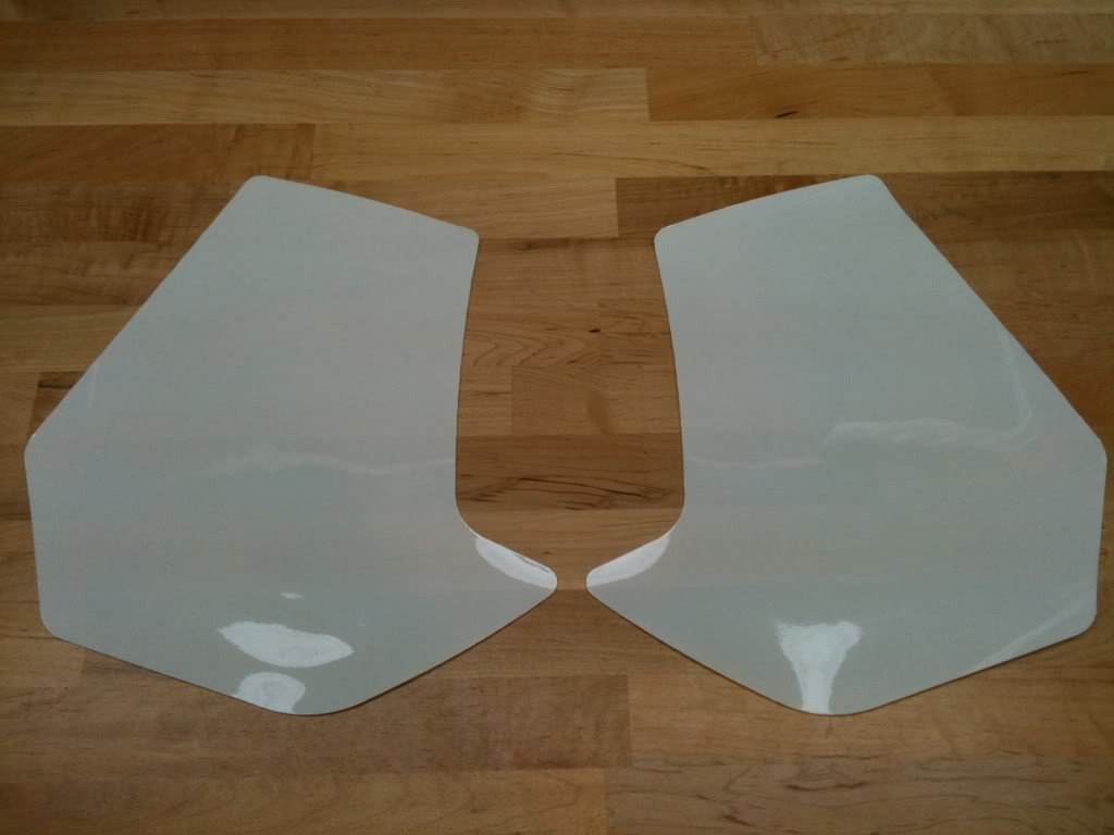 Protections transparentes pour réservoir, fourche feux et pot. 1e31111d