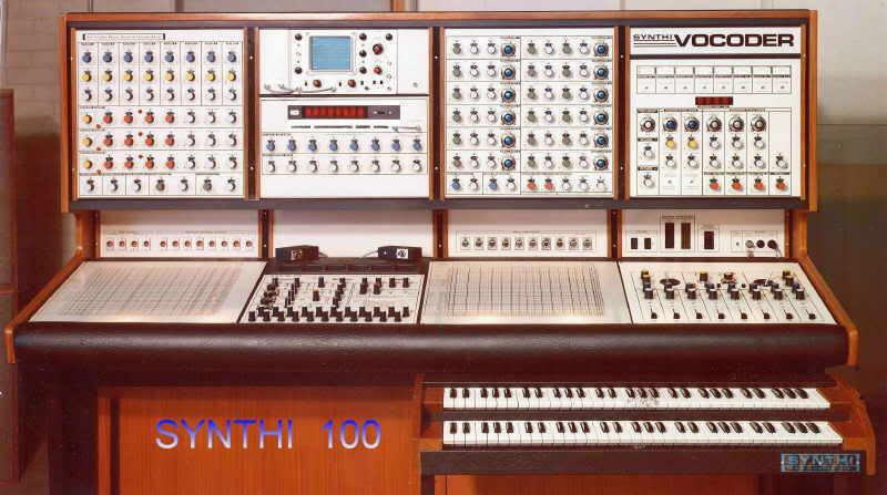 Синтезаторы Synthi100