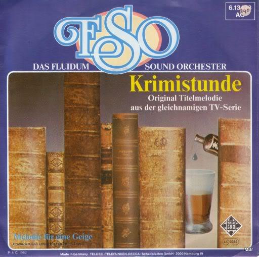 """Frank Duval - музыка из сериала """"Die Krimistunde"""" DasFluidumSoundOrchester-Krimistunde"""