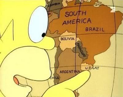 Vídeos y fotos de risa. Homero_y_uruguay_