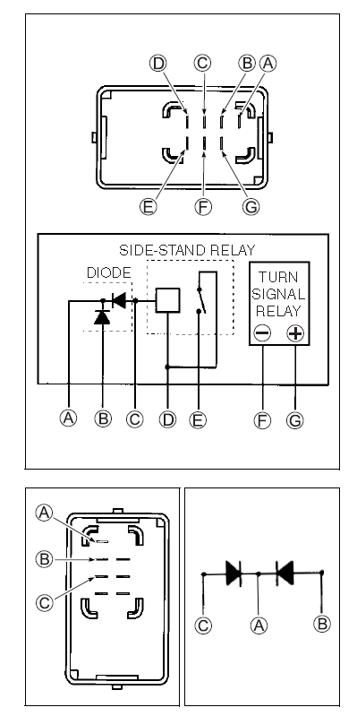 LED resistors for indicators Flasherrelay