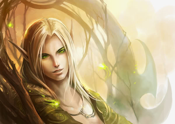 Ассоциации на персонажей - Страница 2 Elf_by_sandara