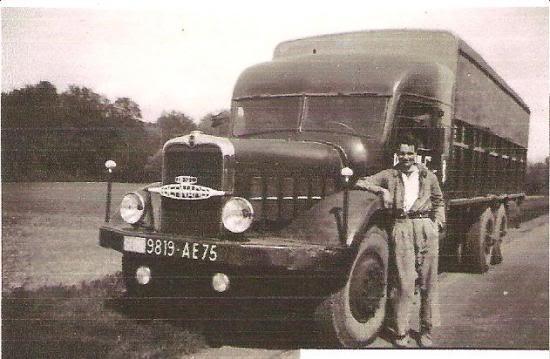 La Capsula del Tiempo (Camiones BERNARD) Bernarden-1950