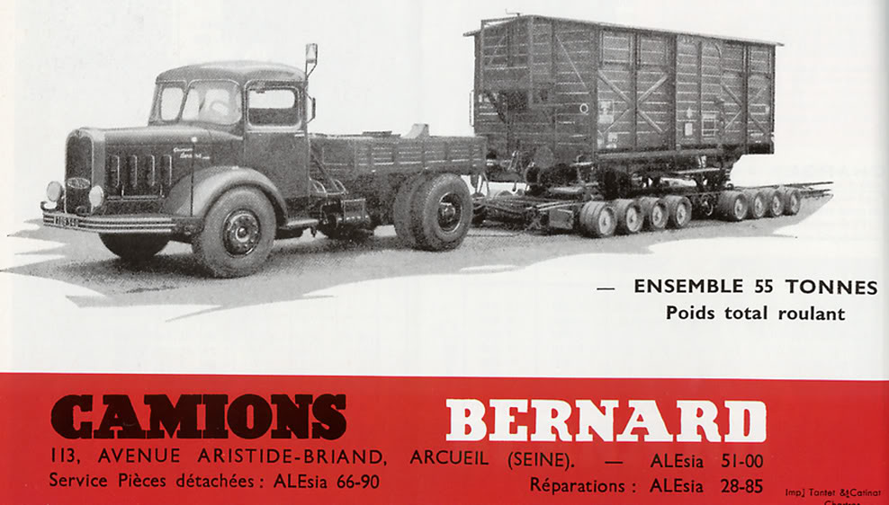 La Capsula del Tiempo (Camiones BERNARD) Bernardensemble8bx