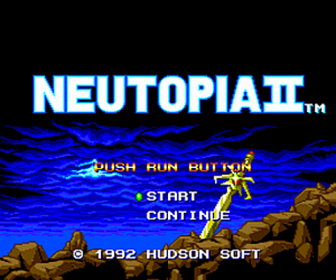 Wii Virtual Console Reviews Neutopia2