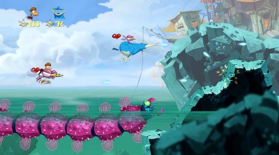 Review: Rayman Origins (Wii Retail) ROrayman5