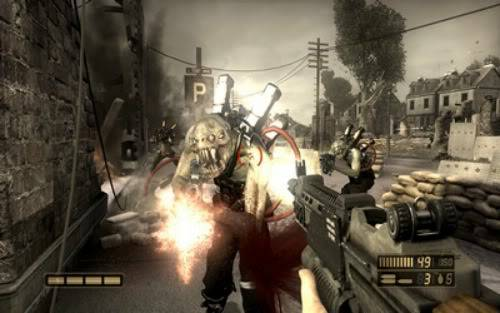 Beyond the fence - Resistance: Fall of Man (PS3) 0screen2