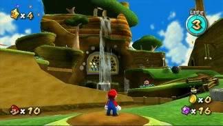 Battle Royale ! Super Mario Galaxy VS Super Mario Galaxy 2 GAL4