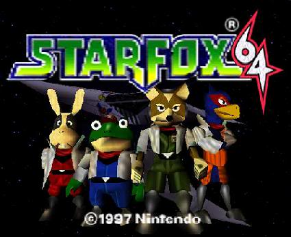 Star Fox 64 (N64) Starfox64logo
