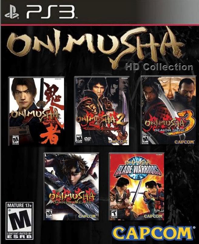¿Tu saga de juegos favorita? OnimushaHDCollection