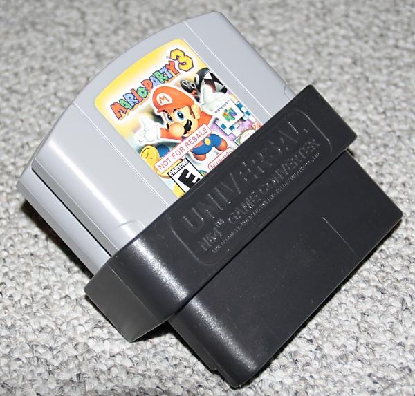 Nintendo 64 ADAPTADORPARAJUGARJUEGOSPALONTSC