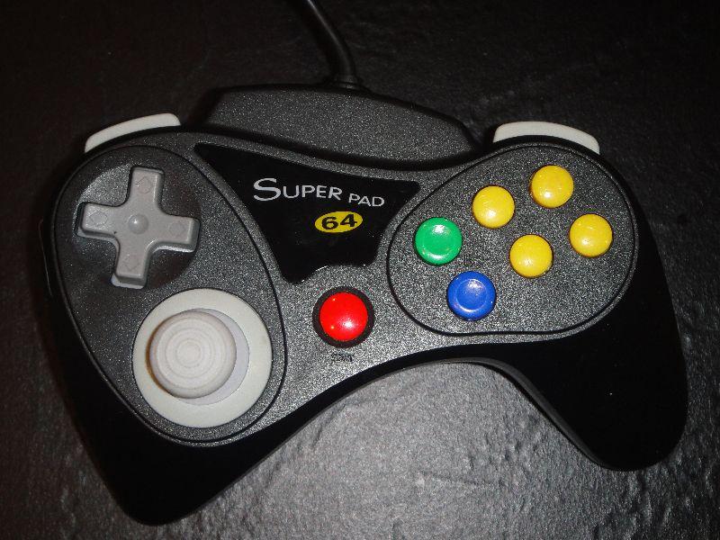 Nintendo 64 SUPERPADN64