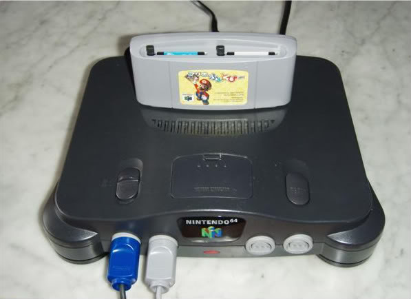 Nintendo 64 Photopicartplugged1