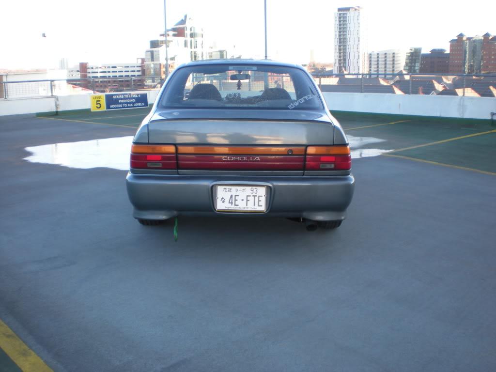 ★ 1993 Toyota Corolla 花冠 ターボ Saloon ★  DSCN4673