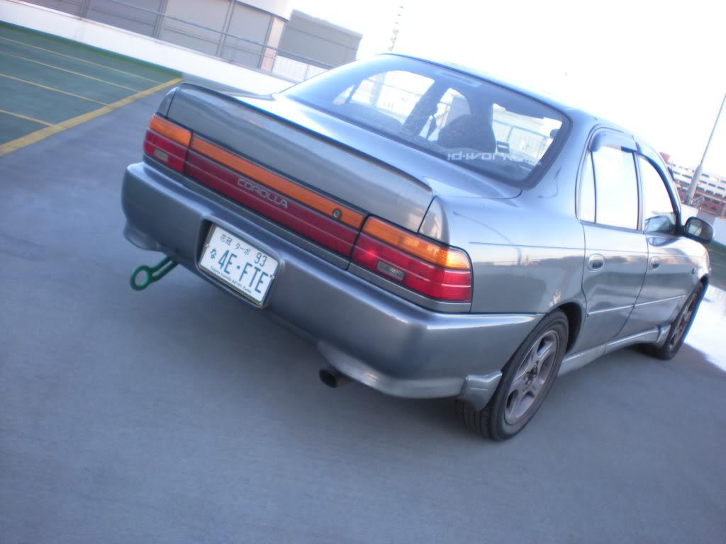 ★ 1993 Toyota Corolla 花冠 ターボ Saloon ★  DSCN4674