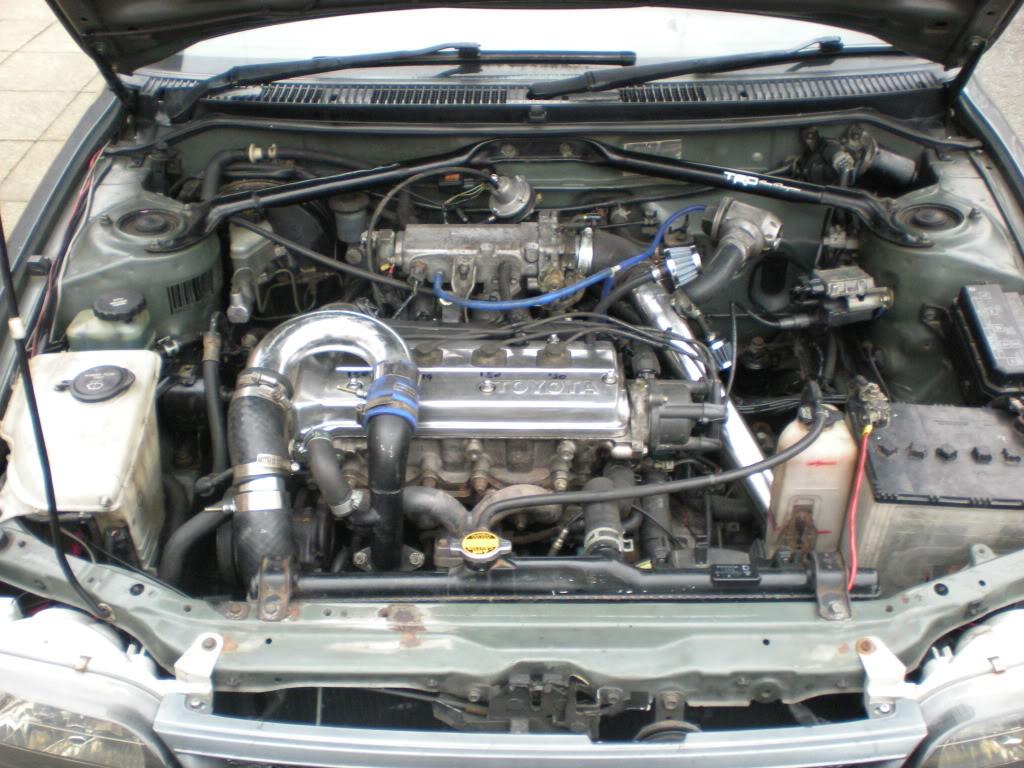 ★ 1993 Toyota Corolla 花冠 ターボ Saloon ★  DSCN4810