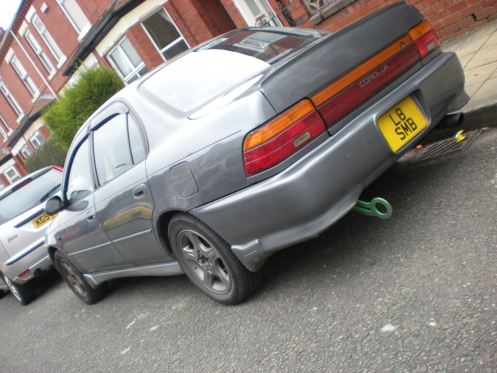 ★ 1993 Toyota Corolla 花冠 ターボ Saloon ★  DSCN4839