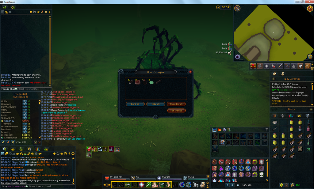 Spider leg middle photo Spider leg middle Araxxor.png