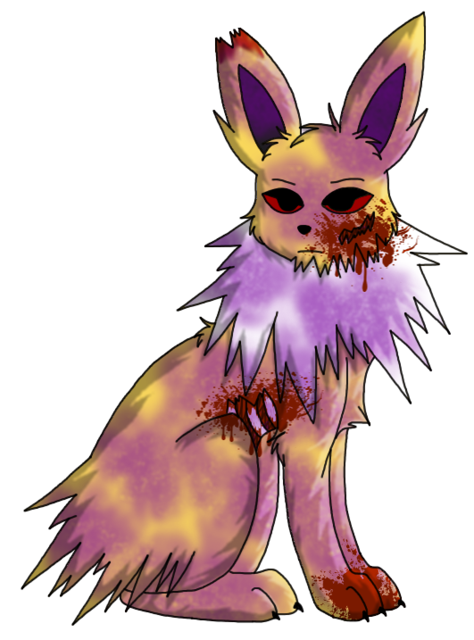 Miyu the Eevee and Rebel the Undead Jolteon (Olivine, Ace) Rebel_zpsdbe5768d