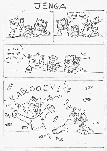 Random Comic Jenga