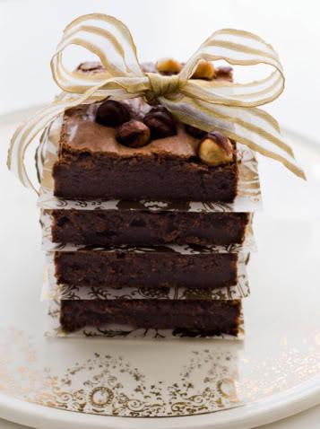 Bánh Chocolate Hạnh nhân Chocolatebrownies