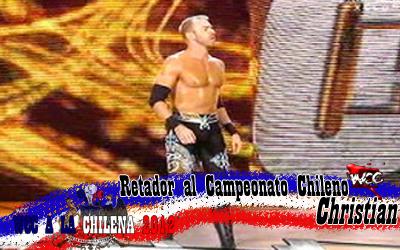 WCC A La Chilena 2012  CristianCage