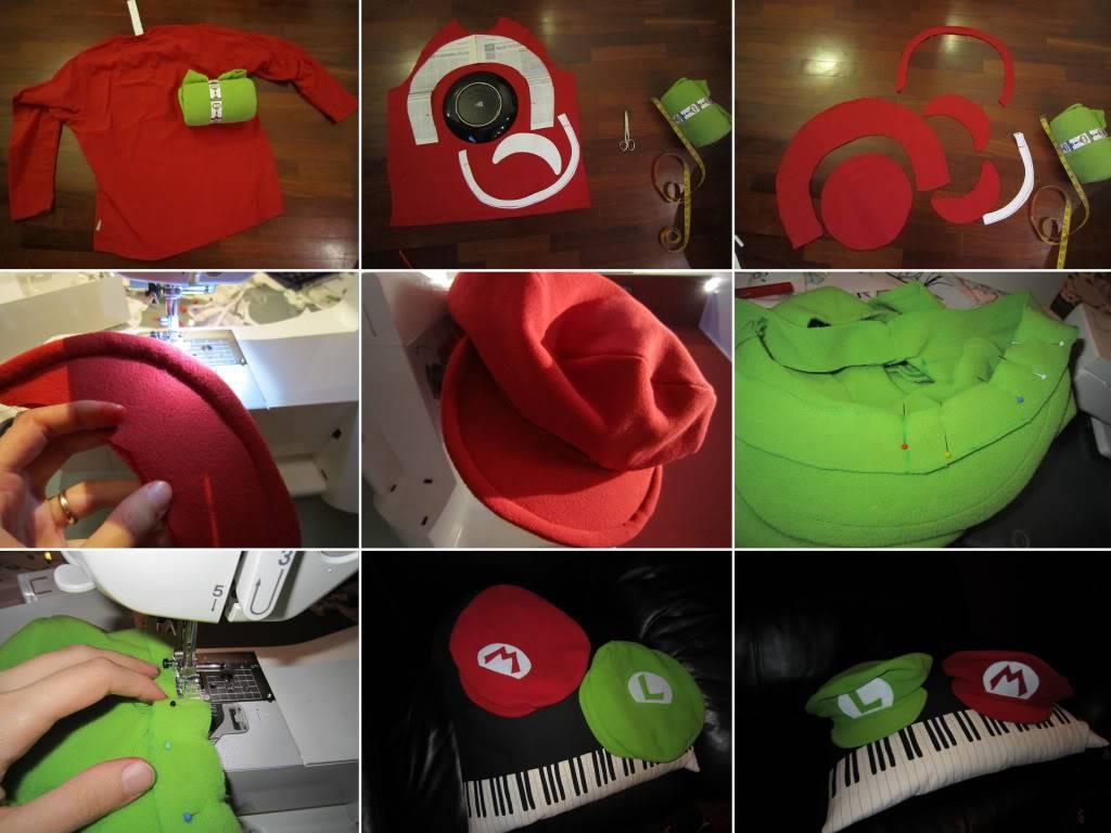 Cappelli Mario e Luigi bros! Collage