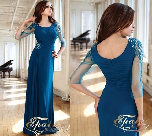 LFM 2. CAPITULO 17 2013-New-Design-Chiffon-Elegant-Long-Sleeve-Evening-Dress-Gown-CL139-_zps0edafd3e