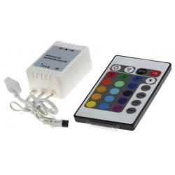 como hacer luces led rgb en forma sencilla ControladorRGB