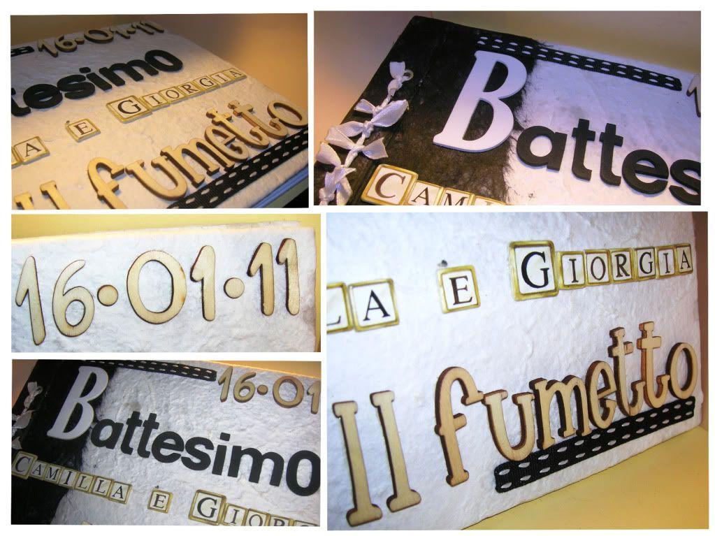 Album Battesimo Black & White AlbumBattesimoCollage