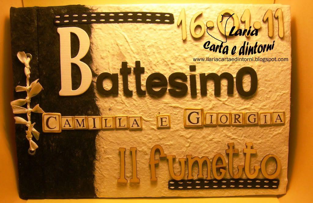 Album Battesimo Black & White AlbumBattesimoRilegatoBiancoNero1