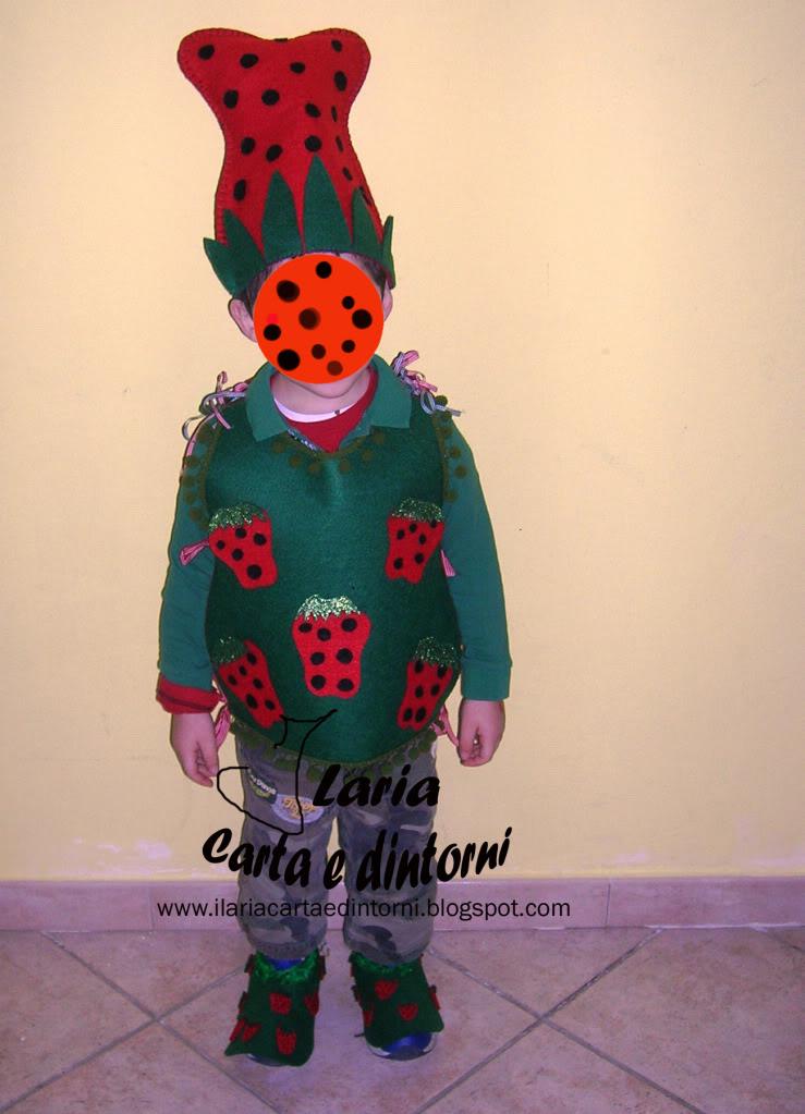 Vestito per Folletto delle Fragole BelvettaFolletto