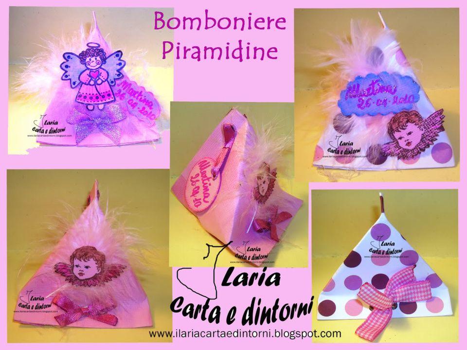 Bomboniere Bimbi Piramidine BombonierePiramide