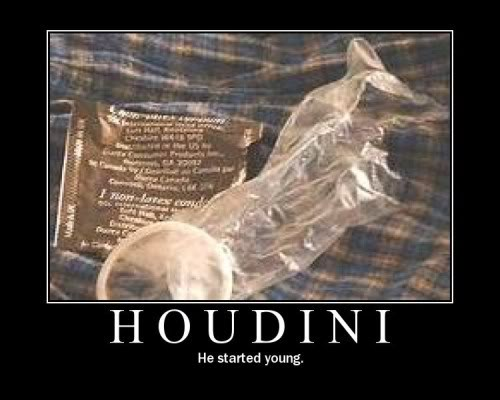 The Demotivational Picture Thread Houdini