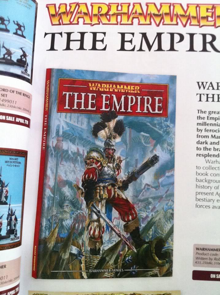 ¡Nuevo Imperio! Empirecover