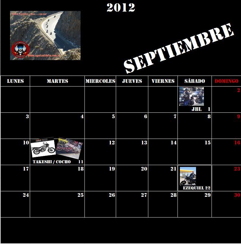 CUMPLEAÑOS DE AGUILAS LIBRES CUSTOM CLUB ALCC_Septiembre