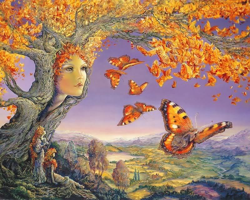 Сказочный мир Жозефины Уолл (Josephine Wall) 50
