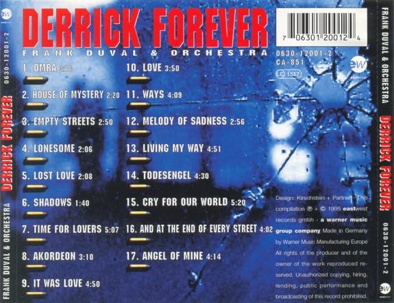 """Frank Duval & Orchestra - """"Derrick Forever"""" (1995) DerrickForever2"""