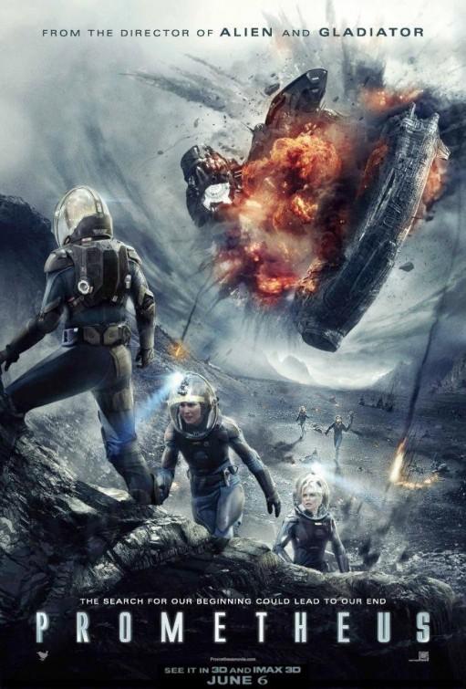 Новые фильмы в кинотеатре - рецензии, отзывы, рекомендации Prometheus