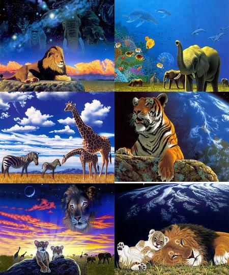 William Schimmel - американский художник-анималист WilliamSchimmel