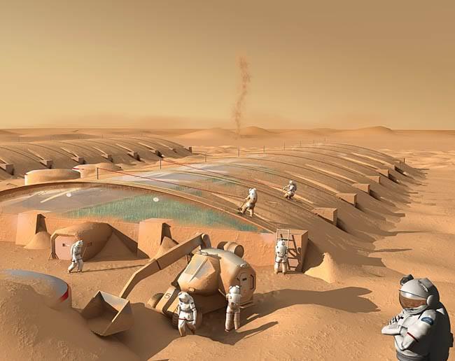 Космос, пилотируемый полет на планету Марс и т.д. Mars1