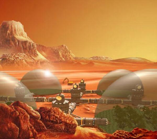 Космос, пилотируемый полет на планету Марс и т.д. Mars2-1